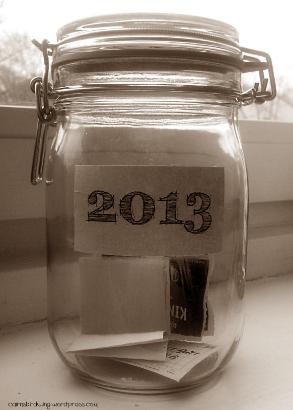 Erinnerungsglas 2013