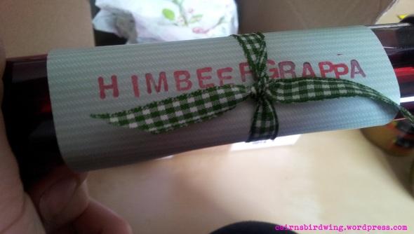 Himbeer-Grappa