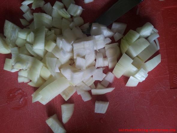 Chop chop - keinen Aufwand betreiben...