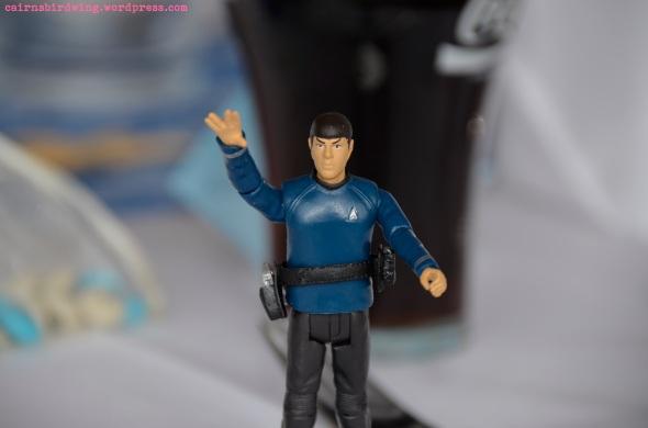 Leben Sie lang und in Frieden. Mr. Spok Action Figur.