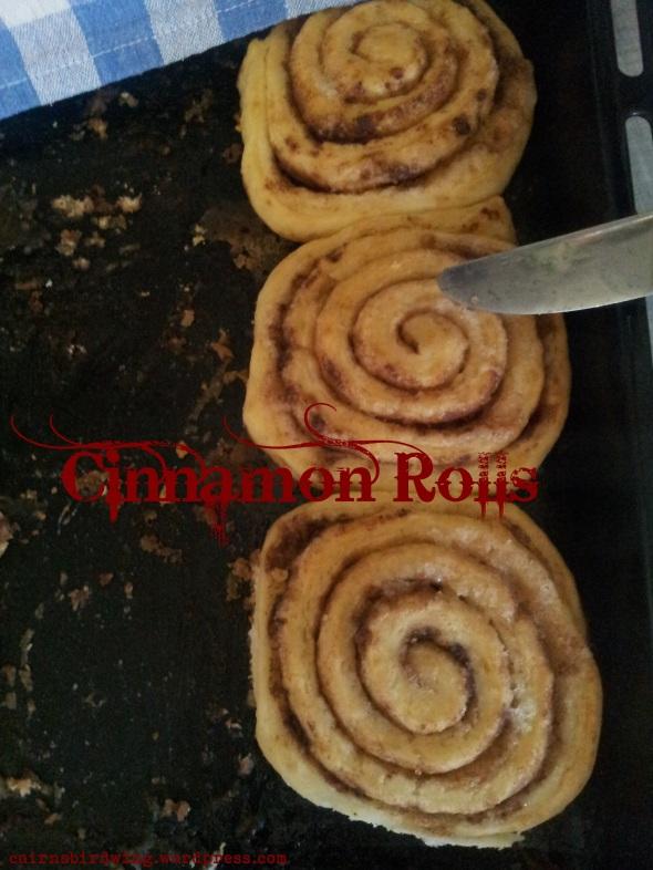 Cinnamon Rolls fertig