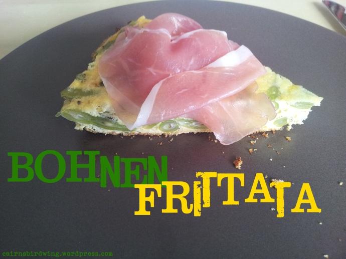 Der Schinken gibt der Frittata den extra kick, aber auch vegetarisch ein Genuss!